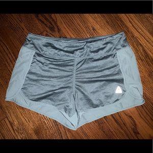 Reebok shorts - two toned green (L)